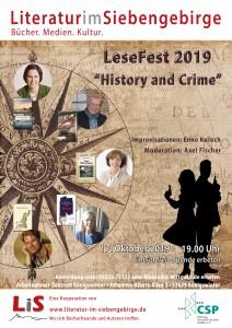 Plakat Lesefest 2019