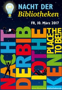 Nacht der Bibliotheken 2017 Plakat