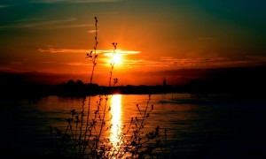 Foto Faring Sonnenuntergang