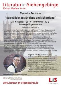 Plakat Fontane Schäfer