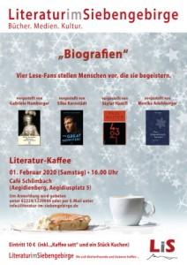 Plakat Biografien
