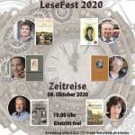Plakat Lesefest 2020